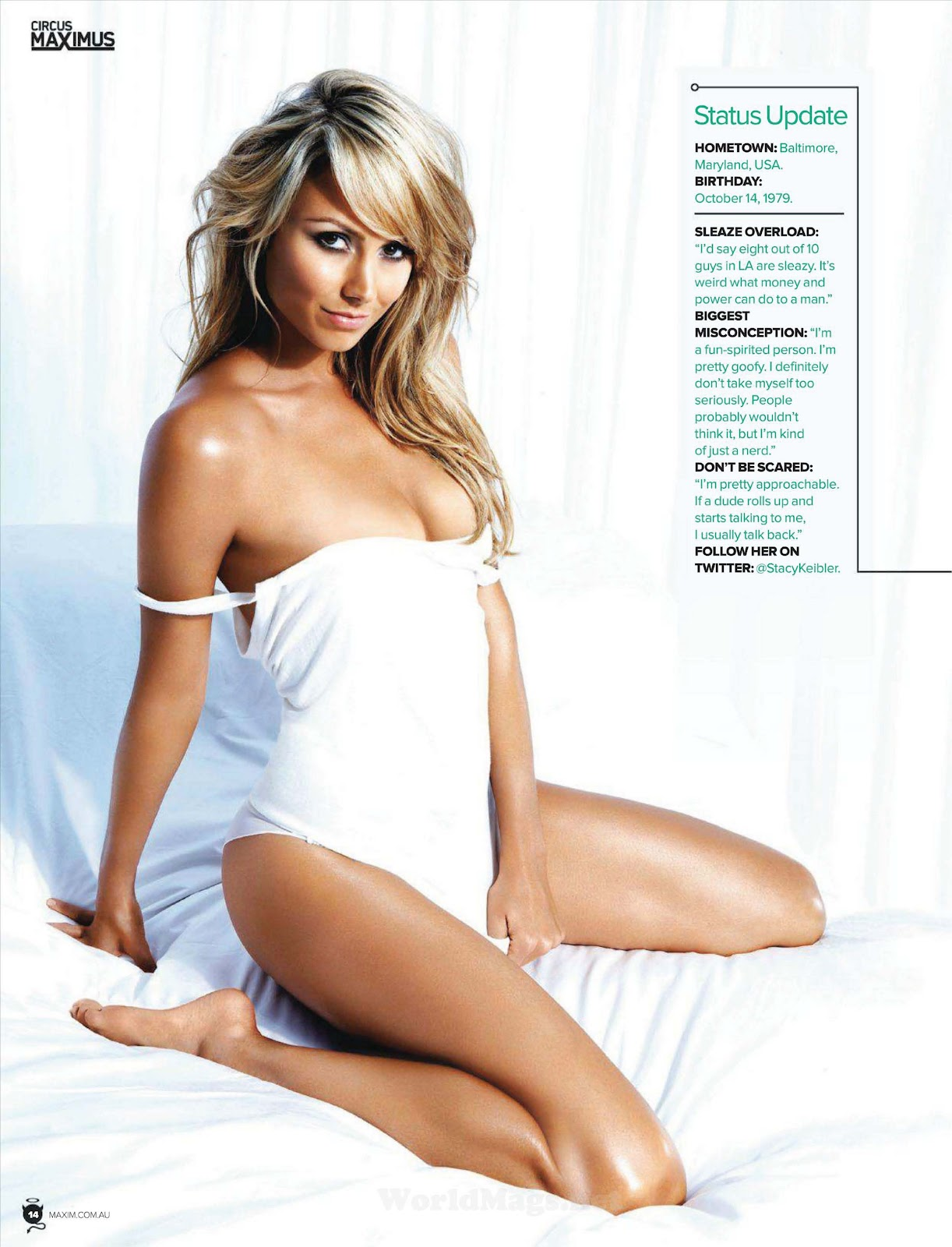 Stacy Keibler Nude Photos 28