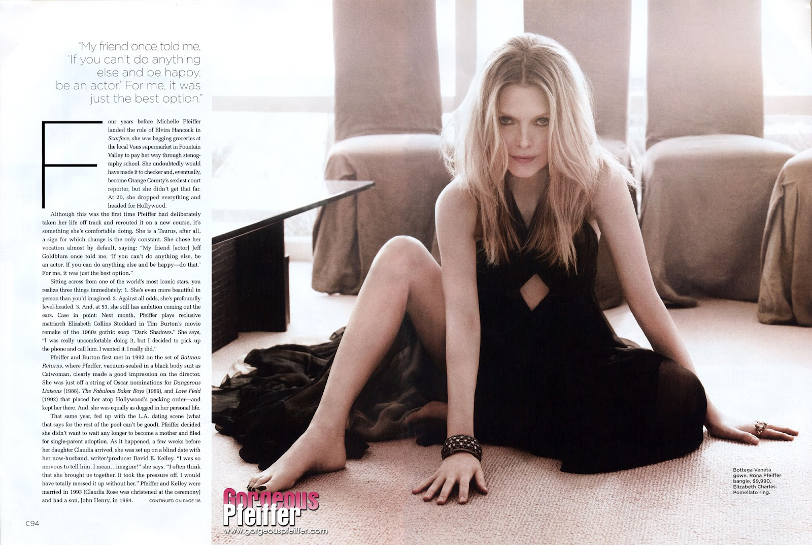 Michelle Pfeiffer Celebrity Pictures