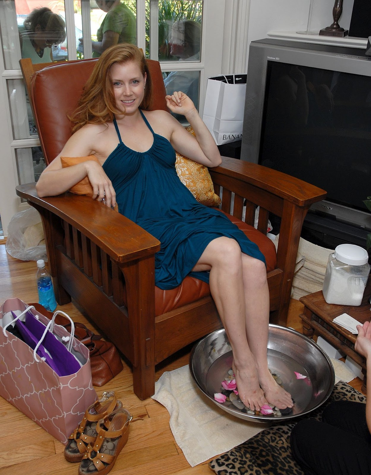 Amy Adams Feet | Celebrity Pictures Malin Akerman Height