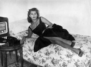 Sophia Loren Feet